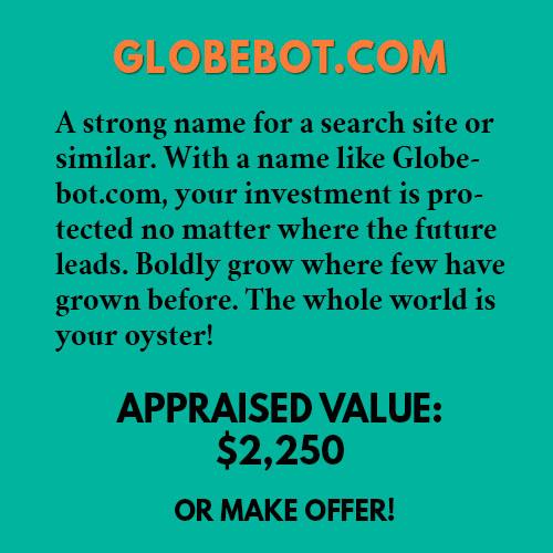 GLOBEBOT.COM