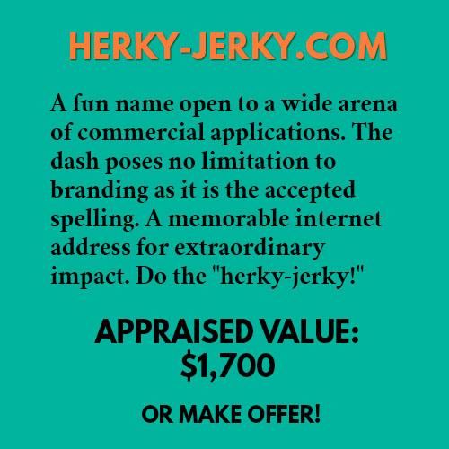 HERKY-JERKY.COM