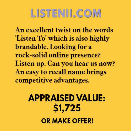 LISTENII.COM