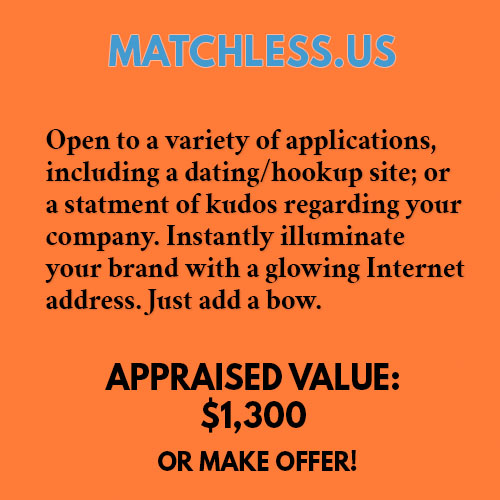MATCHLESS.US