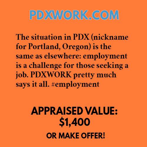 PDXWORK.COM