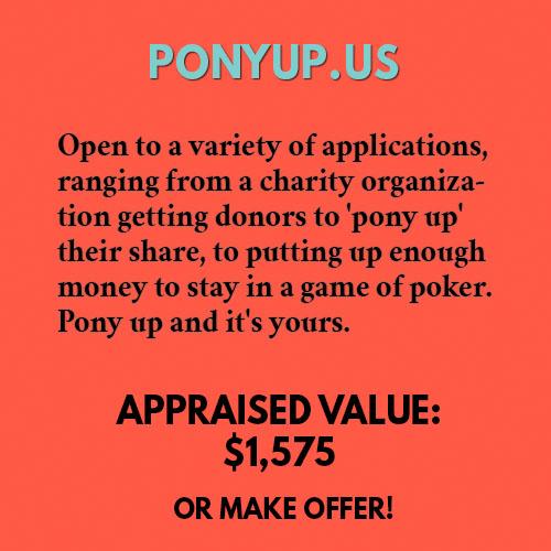 PONYUP.US