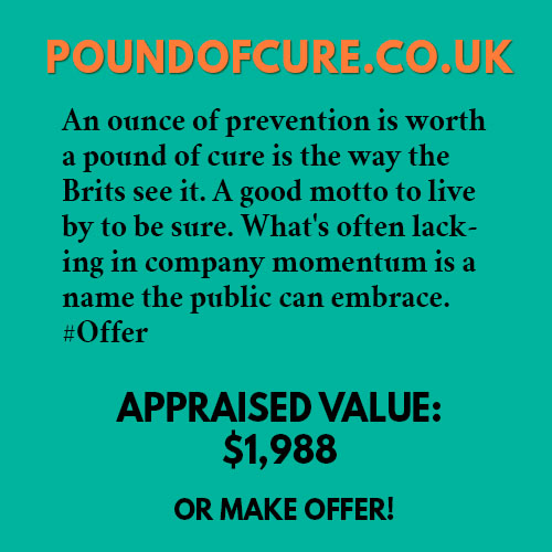 POUNDOFCURE.CO.UK