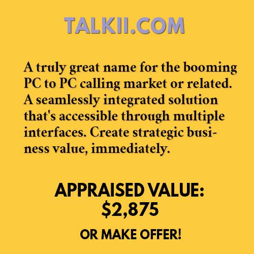 TALKII.COM