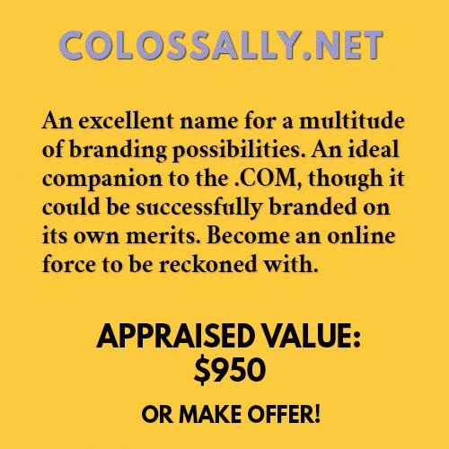 COLOSSALLY.NET