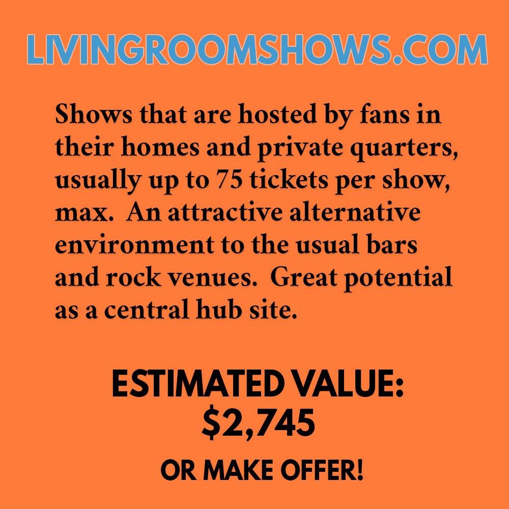 LIVINGROOMSHOWS.COM