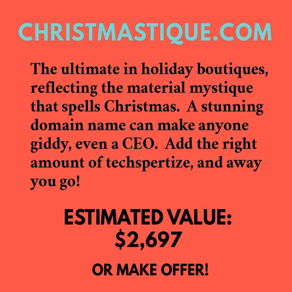 CHRISTMASTIQUE.COM
