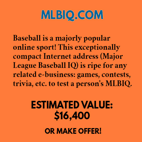 MLBIQ.COM