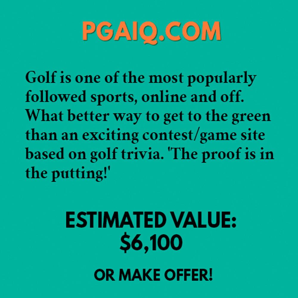 PGAIQ.COM
