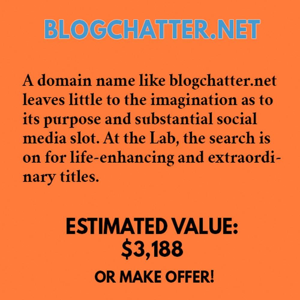BLOGCHATTER.NET