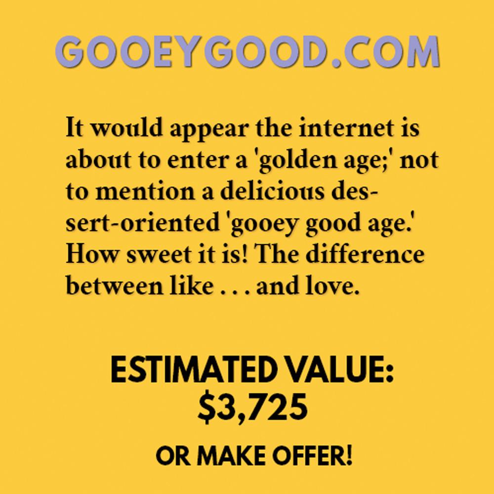 GOOEYGOOD.COM