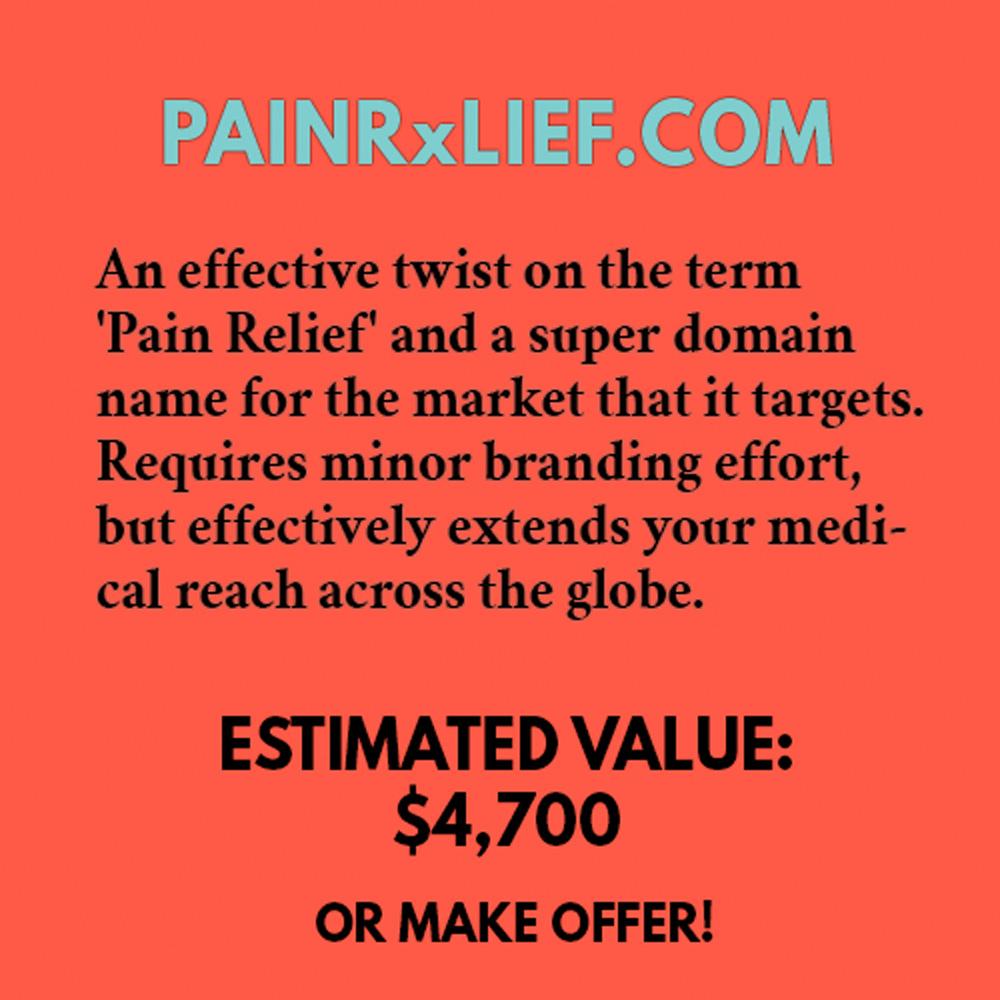 PAINRxLIEF.COM