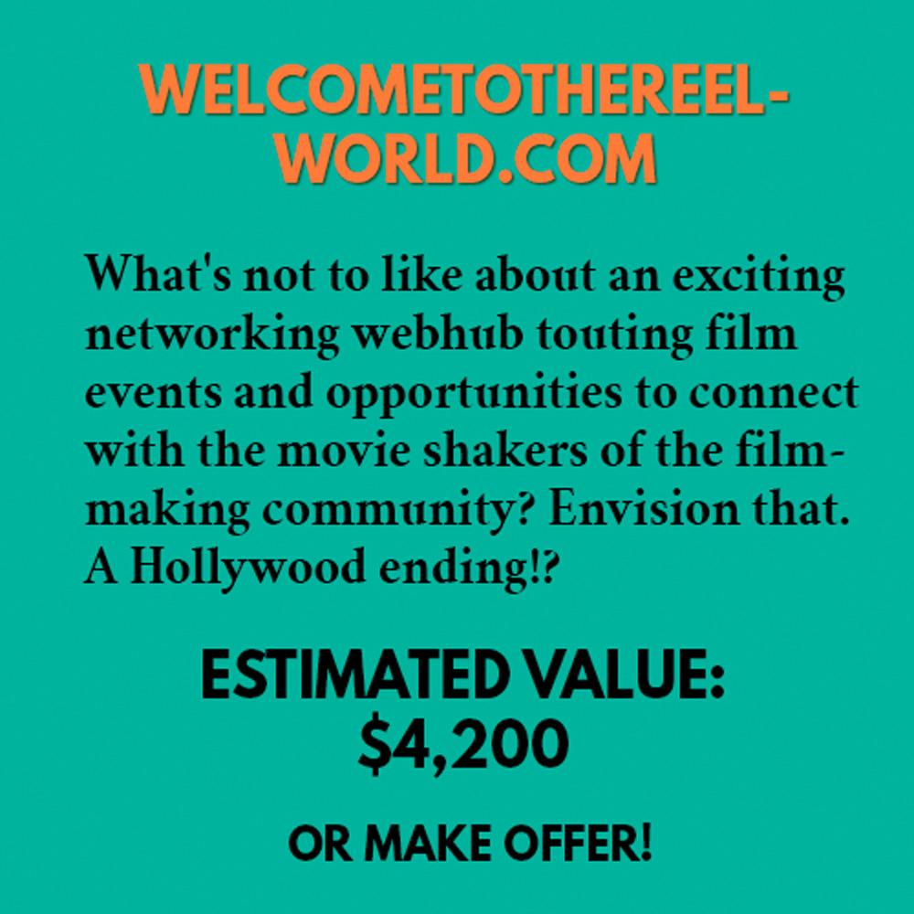 WELCOMETOTHEREELWORLD.COM
