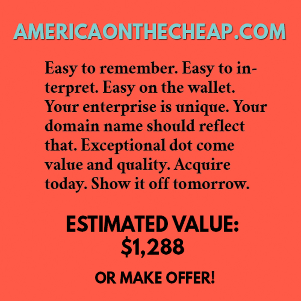 AMERICAONTHECHEAP.COM