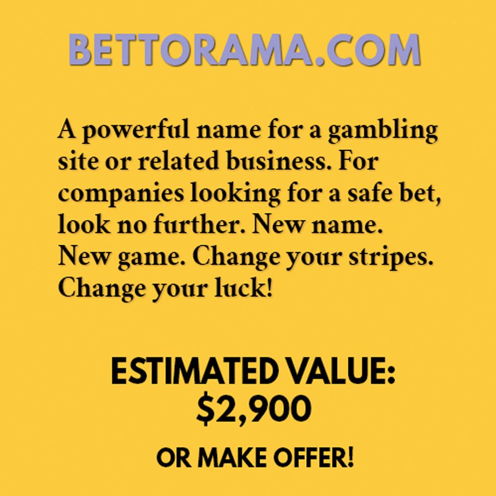 BETTORAMA.COM