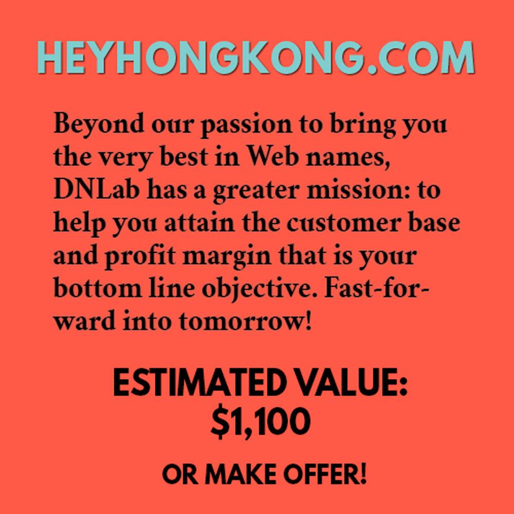 HEYHONGKONG.COM