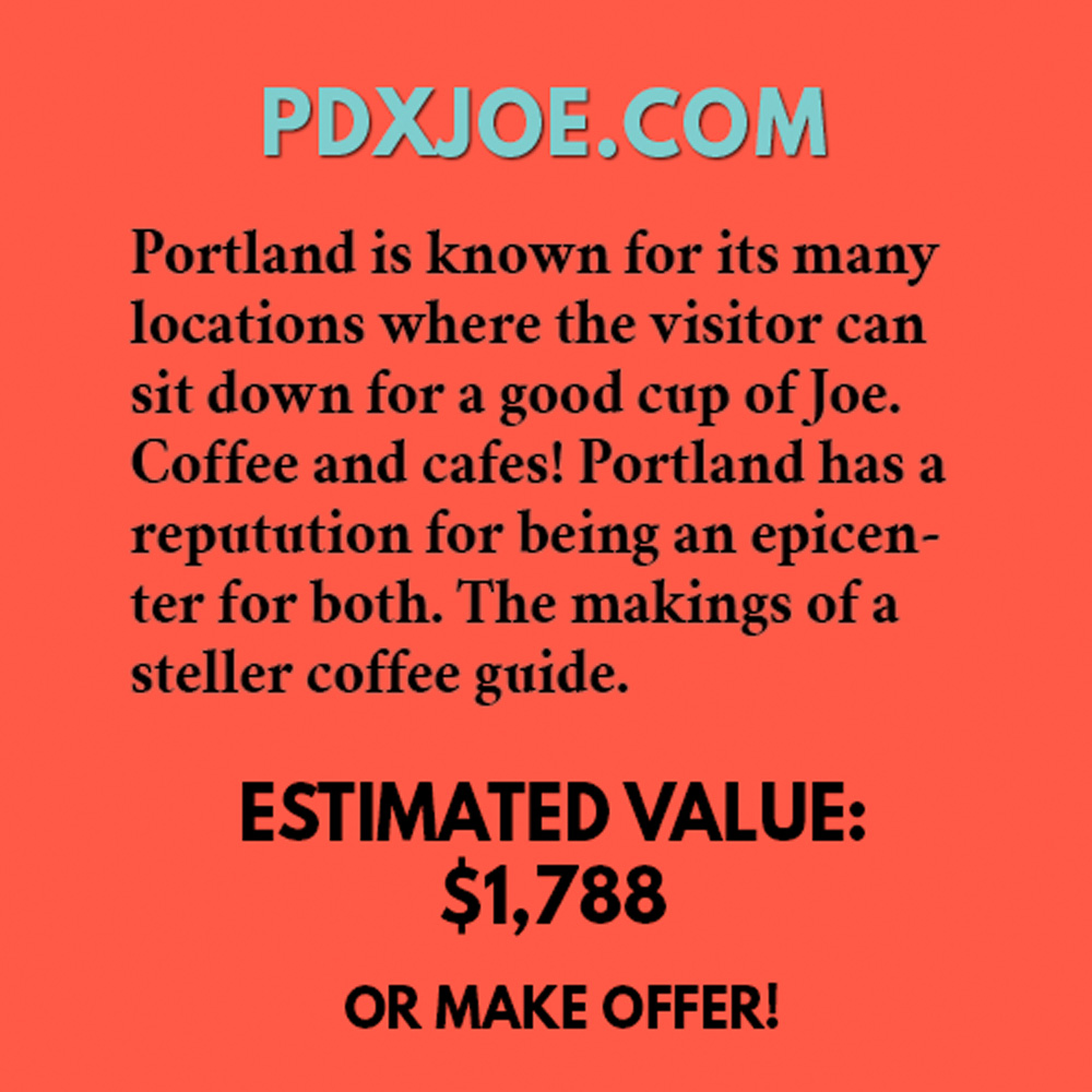 PDXJOE.COM