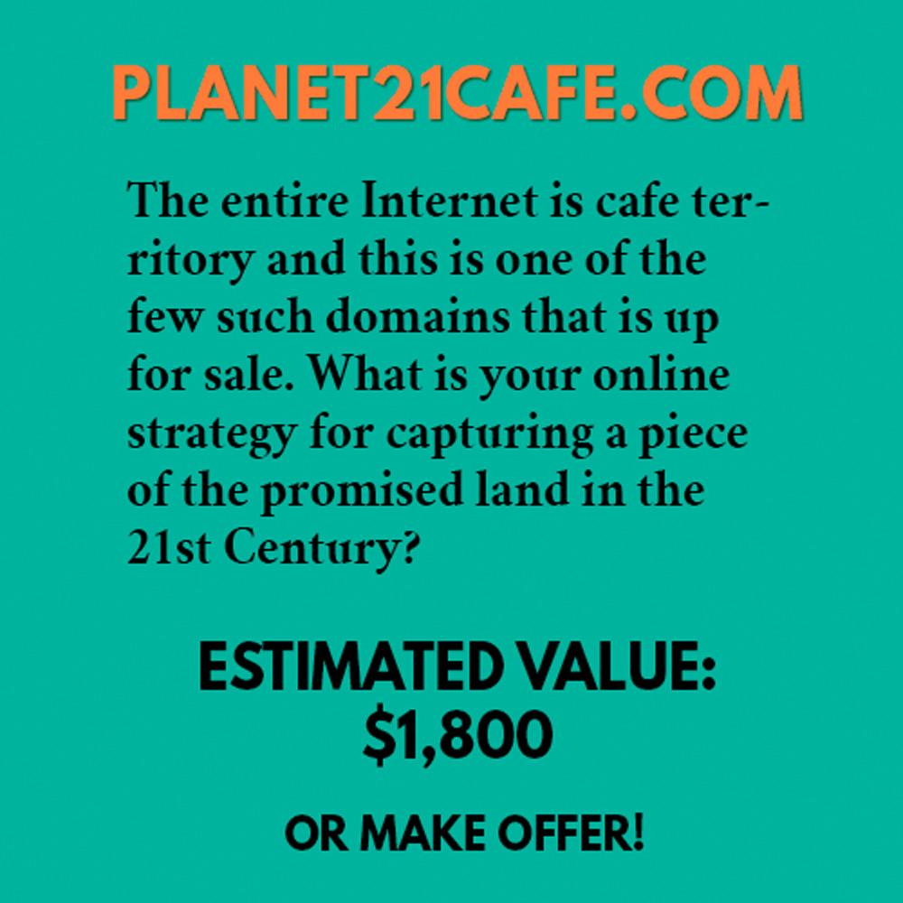 PLANET21CAFE.COM