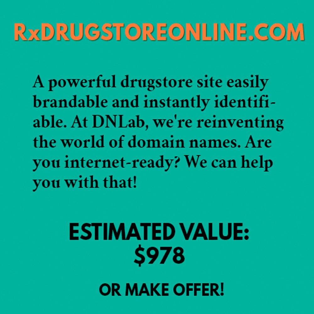 RxDRUGSTOREONLINE.COM