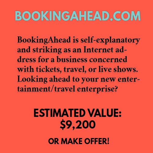 BOOKINGAHEAD.COM