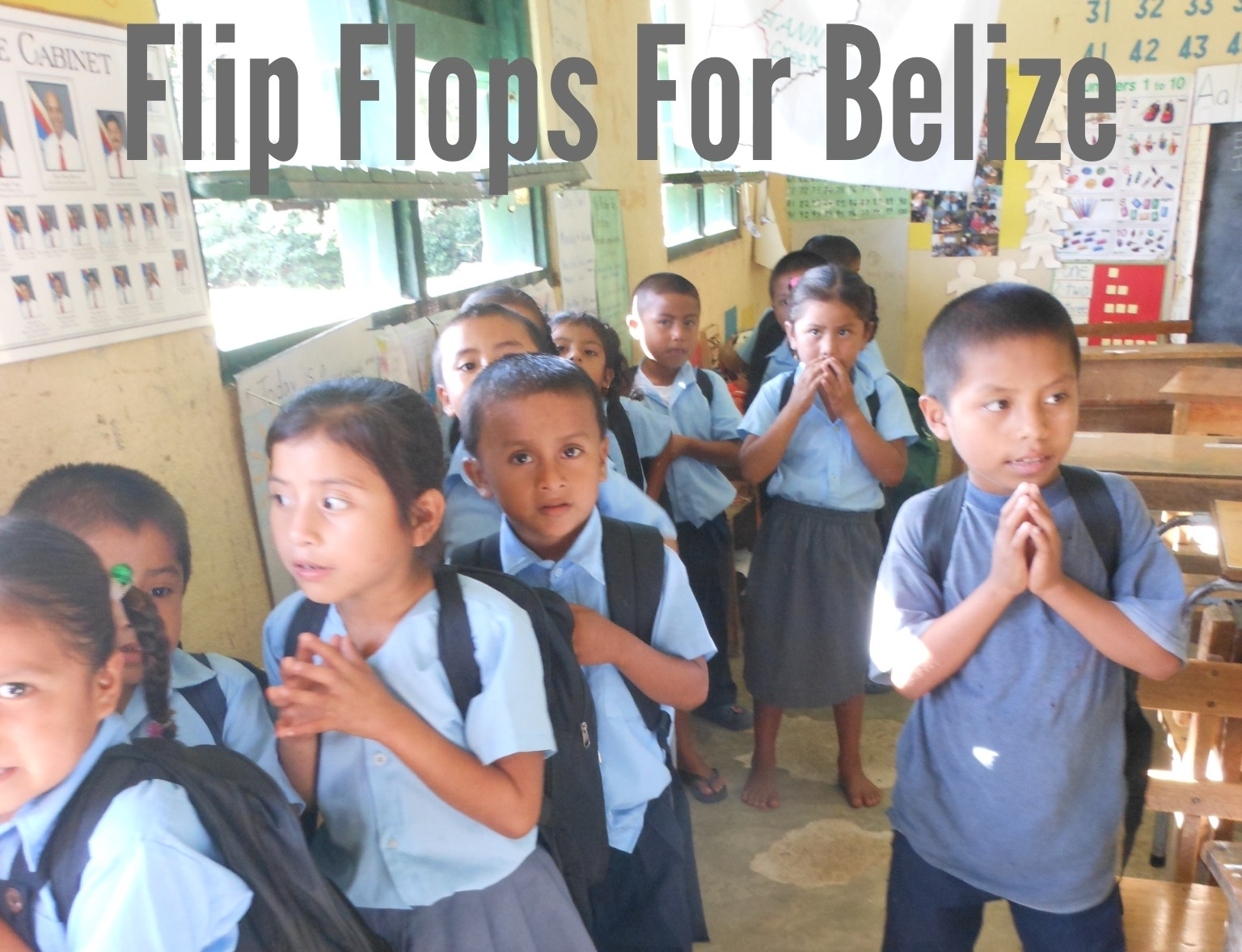In January 2016, we were able to share flip-flops with the school children in blue creek, corazon creek, otoxha and san lucas in southwestern belize as part of a mission partnership with the all saints parish mission team.