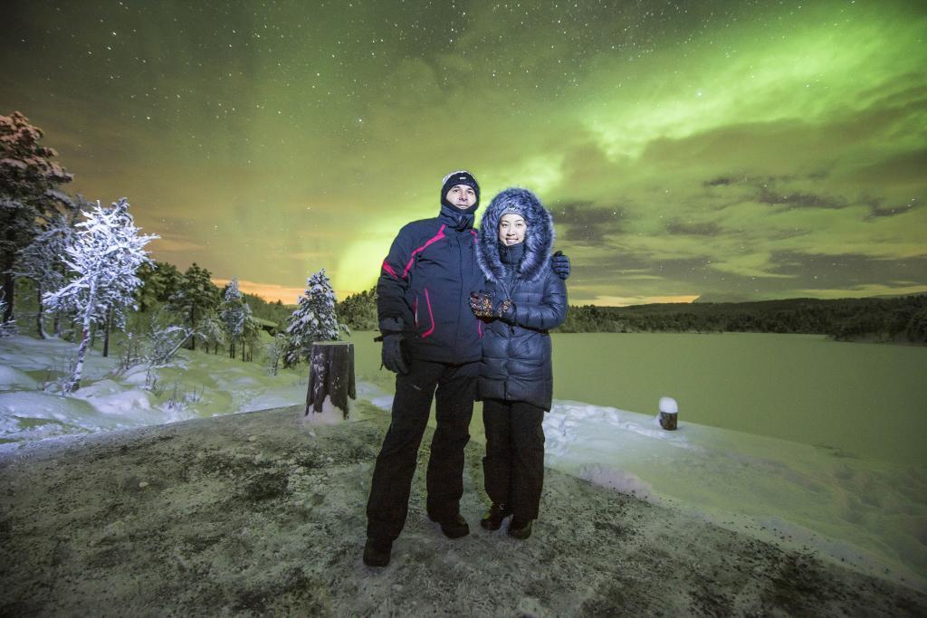 Putri + Luc in Norway