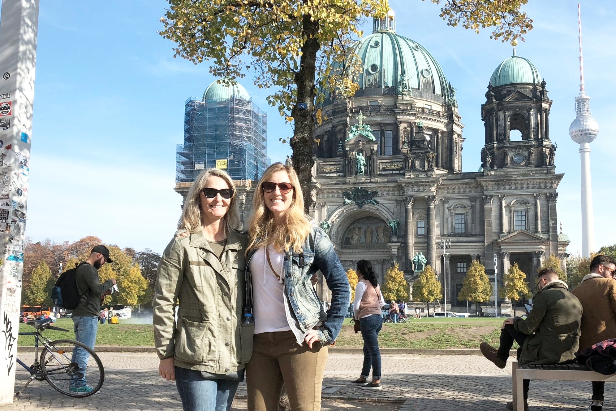 Lauren + Cherish in Germany