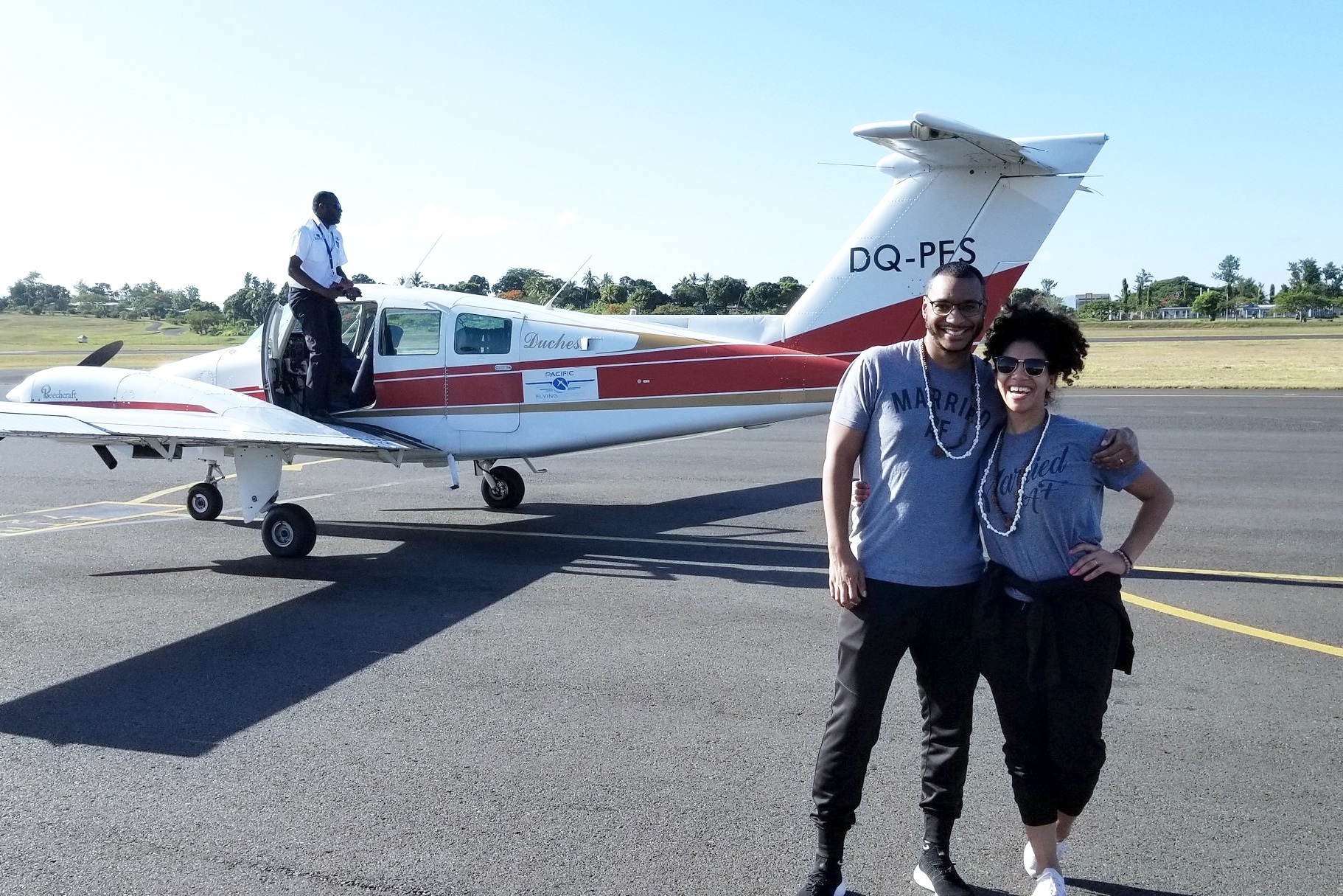 Eva + Dion in Fiji