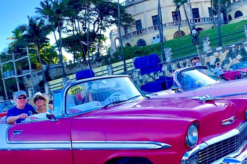 Pam + Greg in Cuba