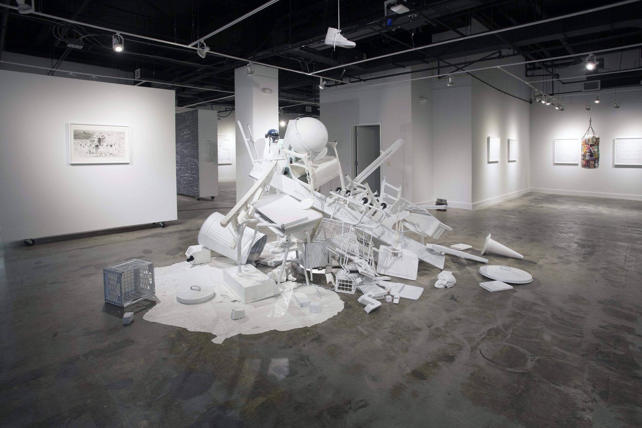 JC LENOCHAN: RAISING A RIOT
