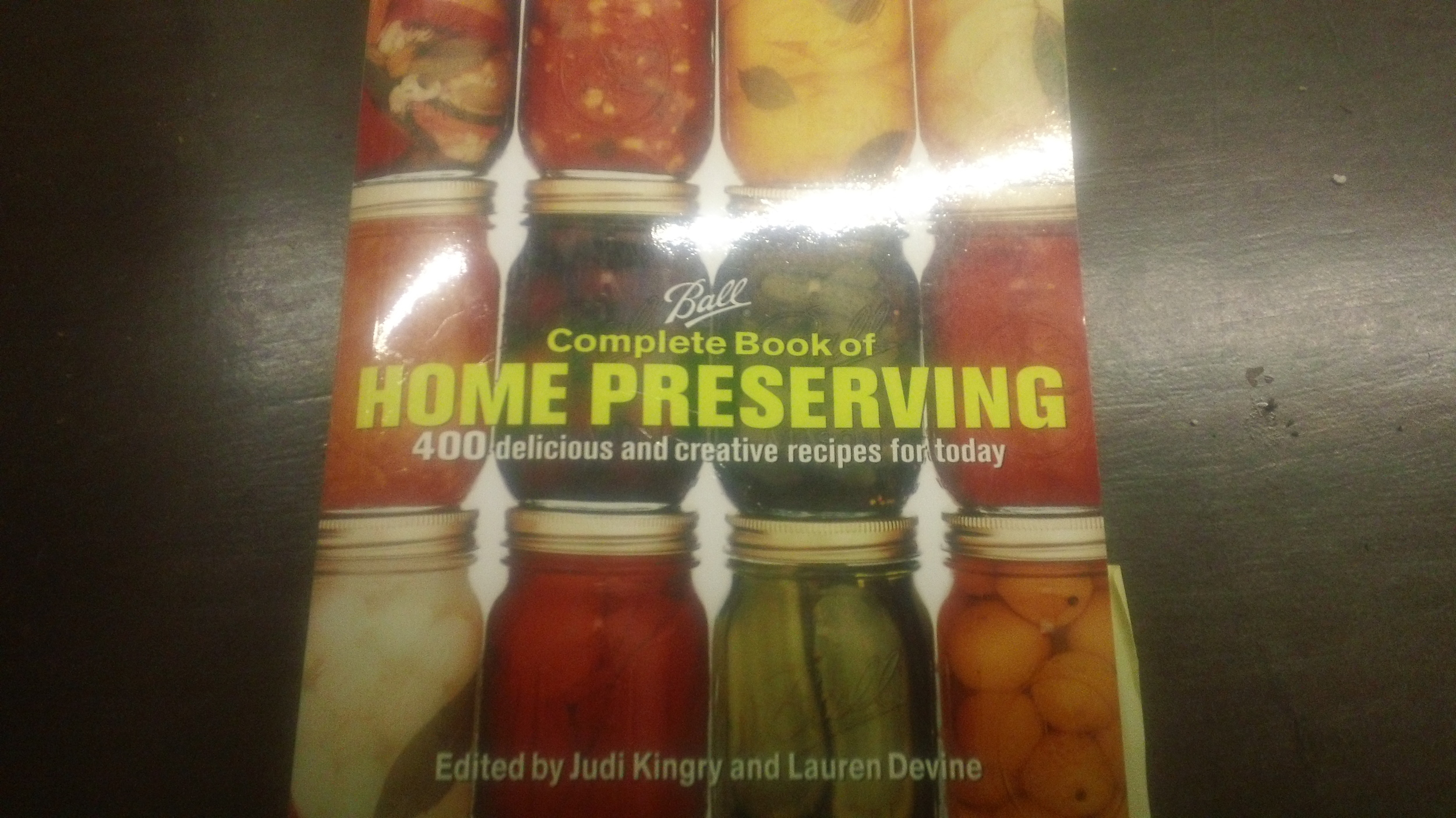 "The ""go to"" book at Prineville Honey Bee Haven for canning recipes."