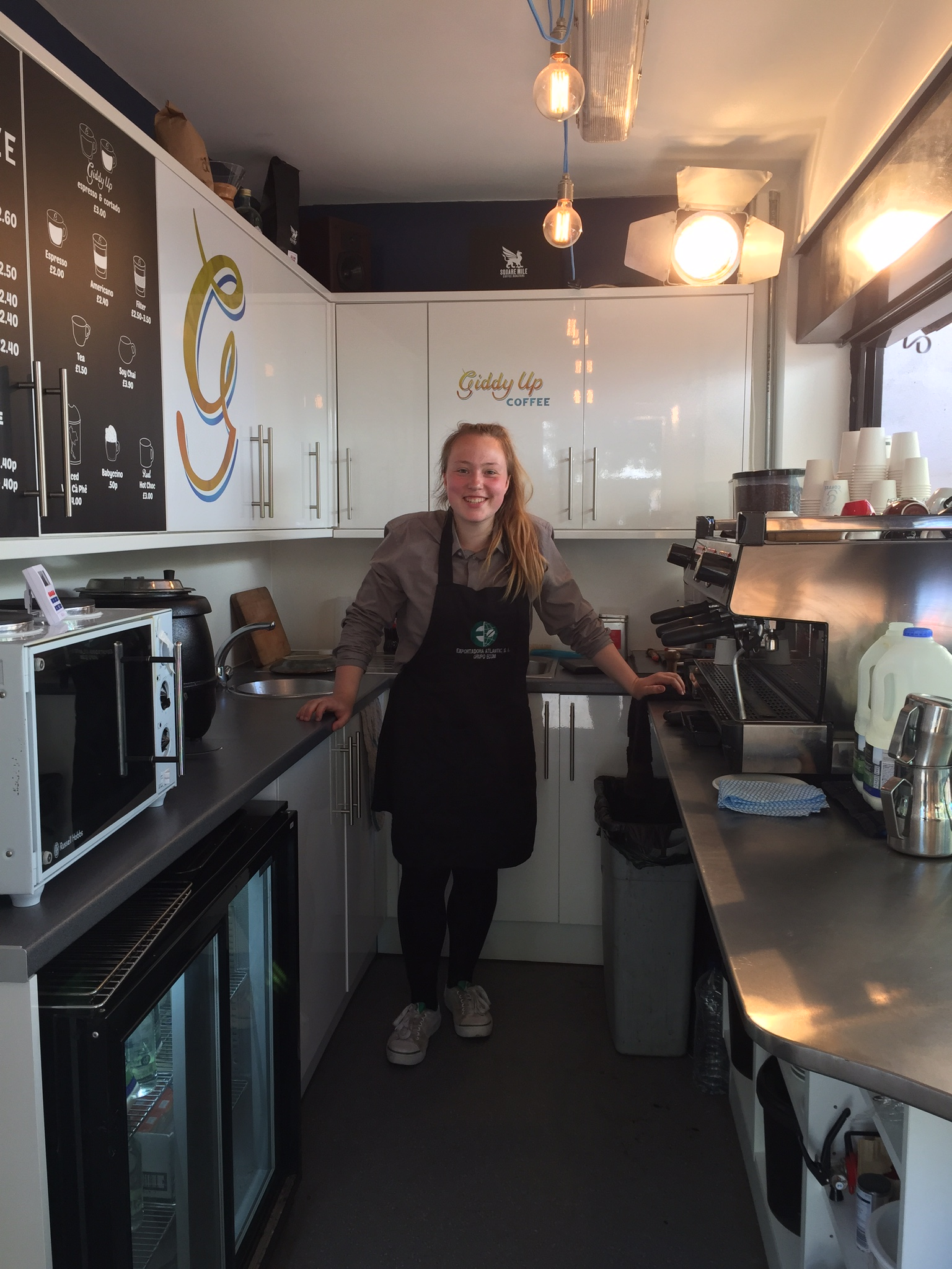 Want to learn the business of specialty coffee? - We are always on the lookout for talented, motivated baristas to join the team. If you think you have what it takes, drop us a line at careers@giddyupcoffee.co.uk with your CV and covering letter explaining what sort of role you are looking for.