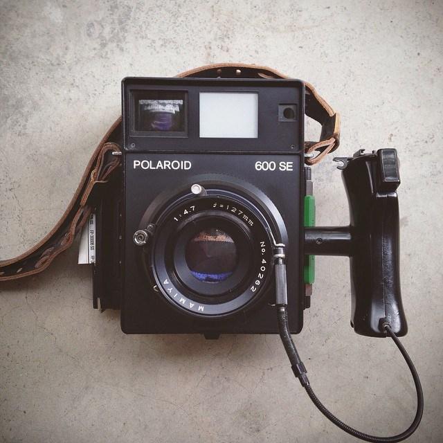Photo Booth Polaroid camera