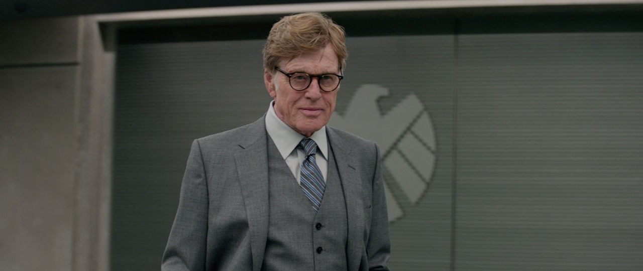 Robert Redford in Captain America: The Winter Soldier (2014).