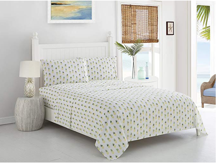 Caribbean Joe pineapple Bedding Sheet Set