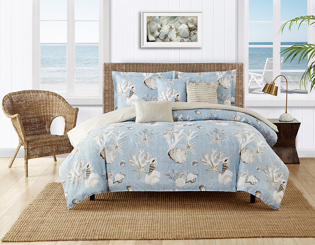 Caribbean Joe Montauk Comforter Set Selling on Boscove's