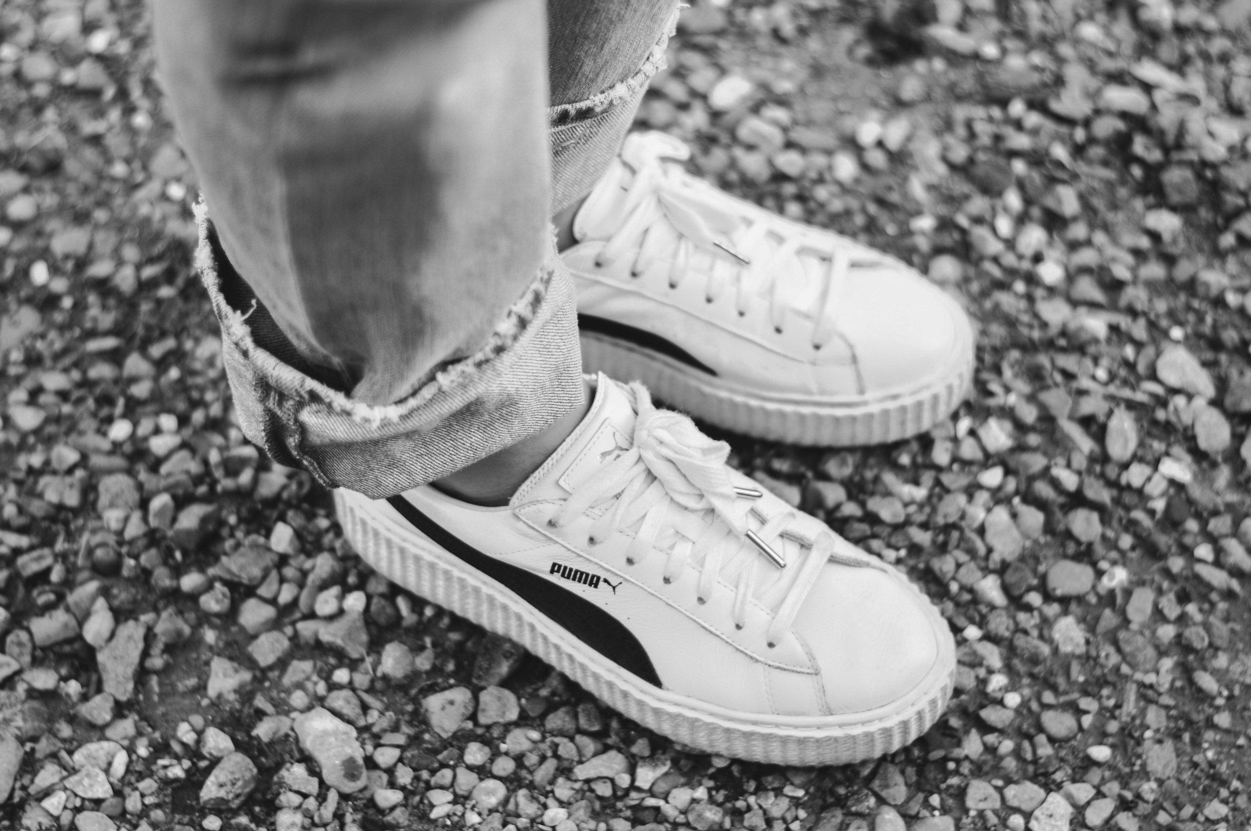 Puma shoes  Photo- Beth Jackson