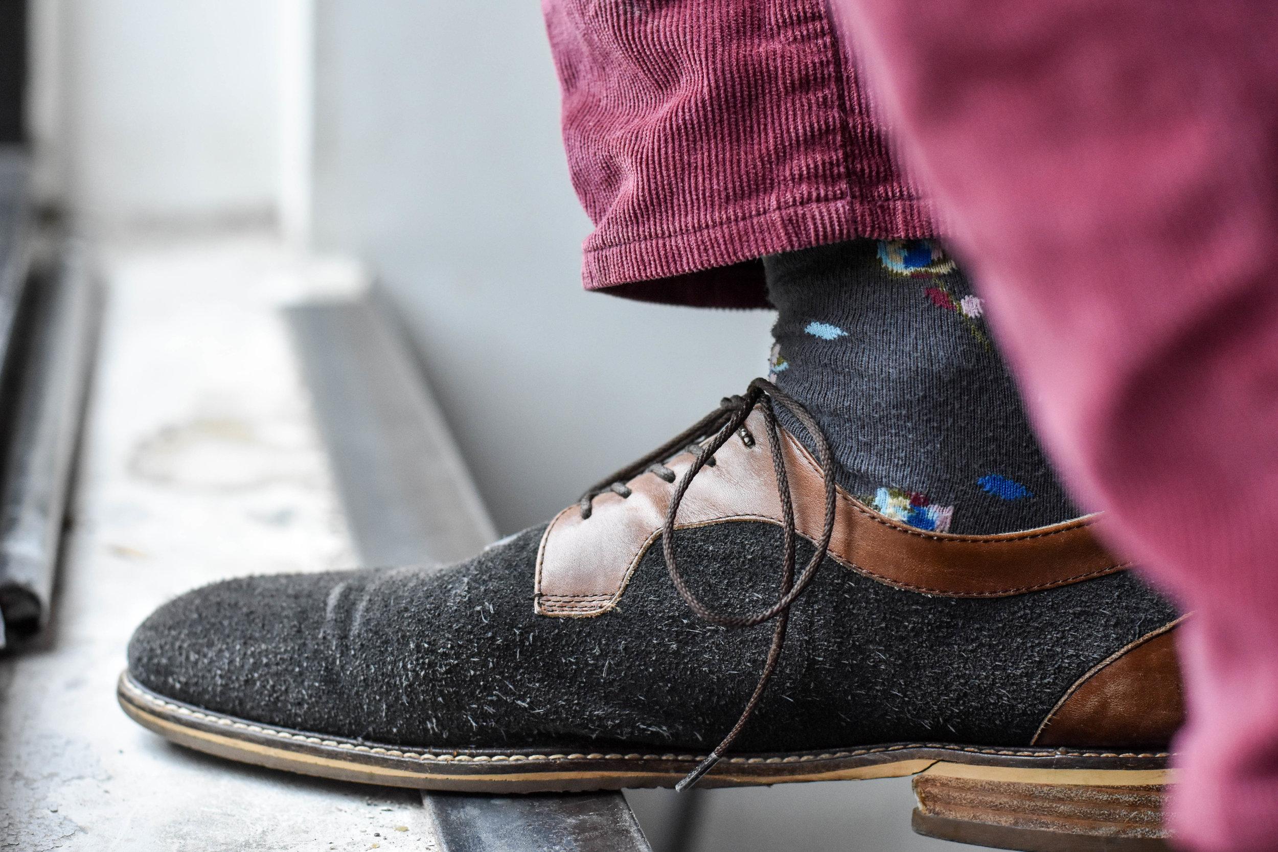 Socks from Happy Socks  Instagram  @erik.brinkman   Photo-Alex Leav