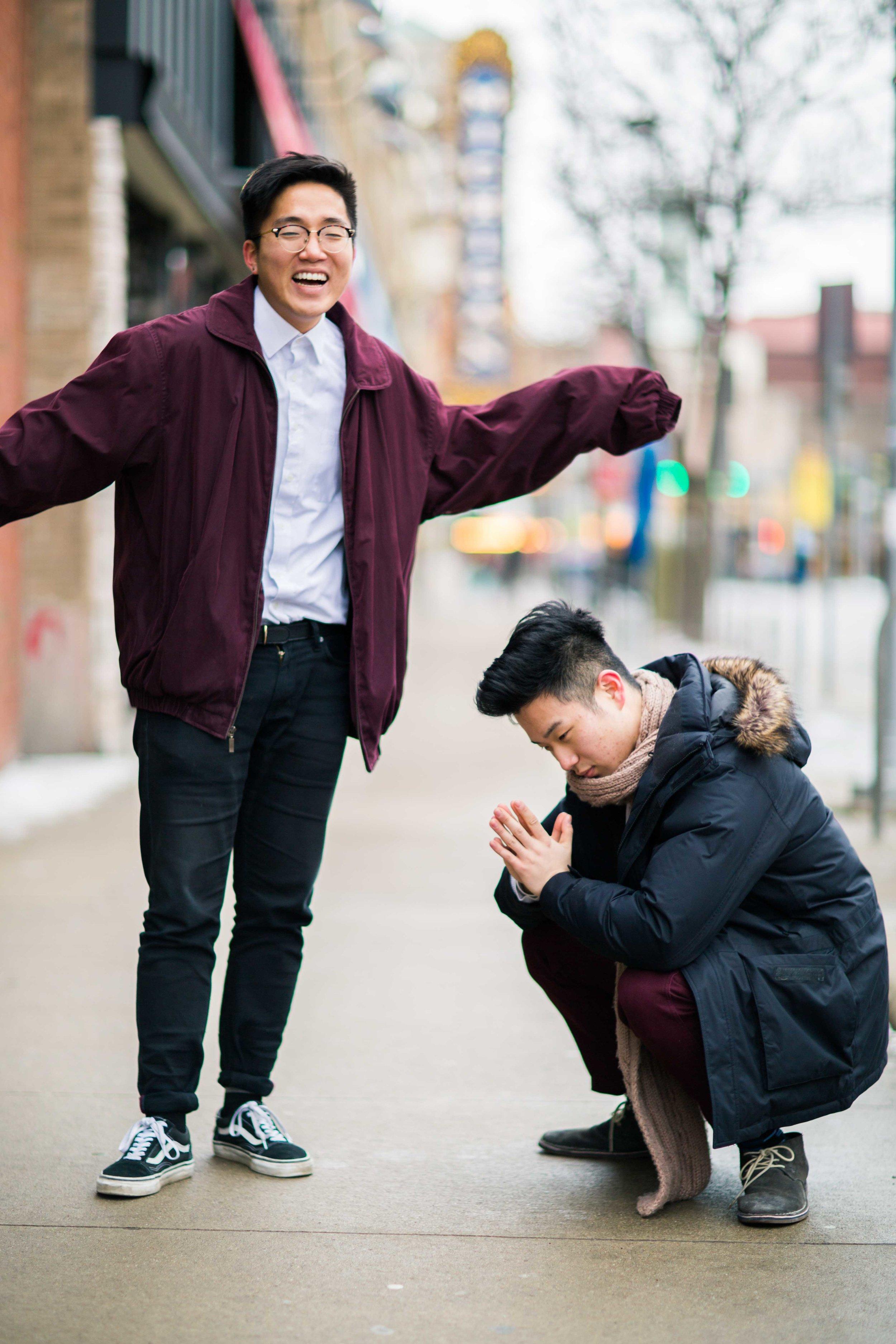 Daniel Suh and Moses Bae
