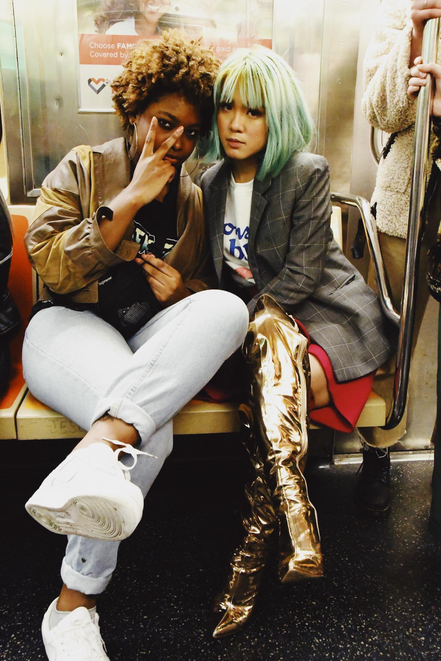 Mo Anderson and Zorina Wang