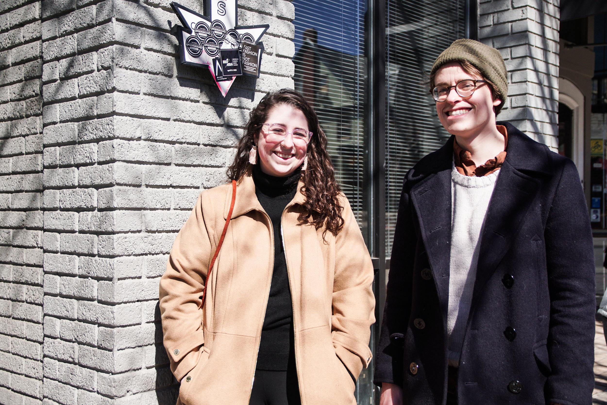 Amanda Bialk and Michael Ferguson