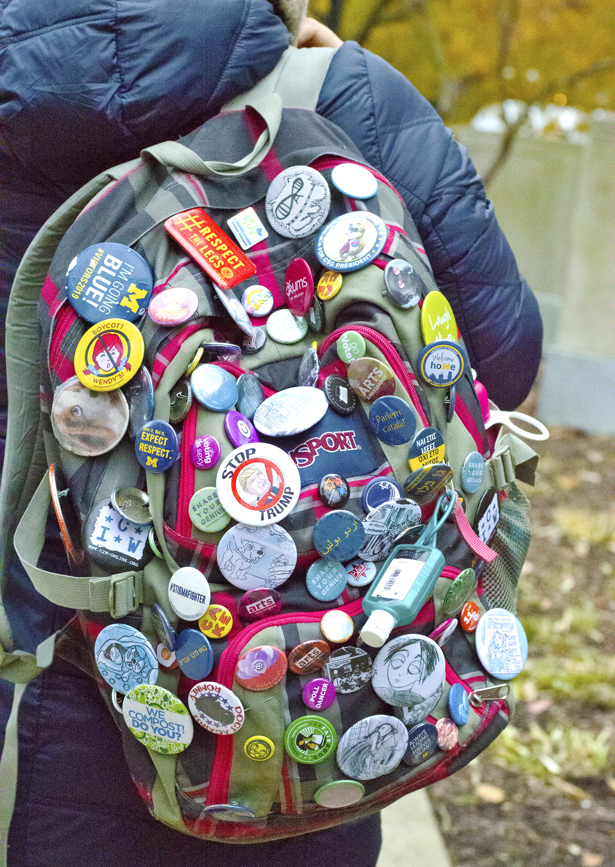 Backpacks on Campus — SHEI Magazine