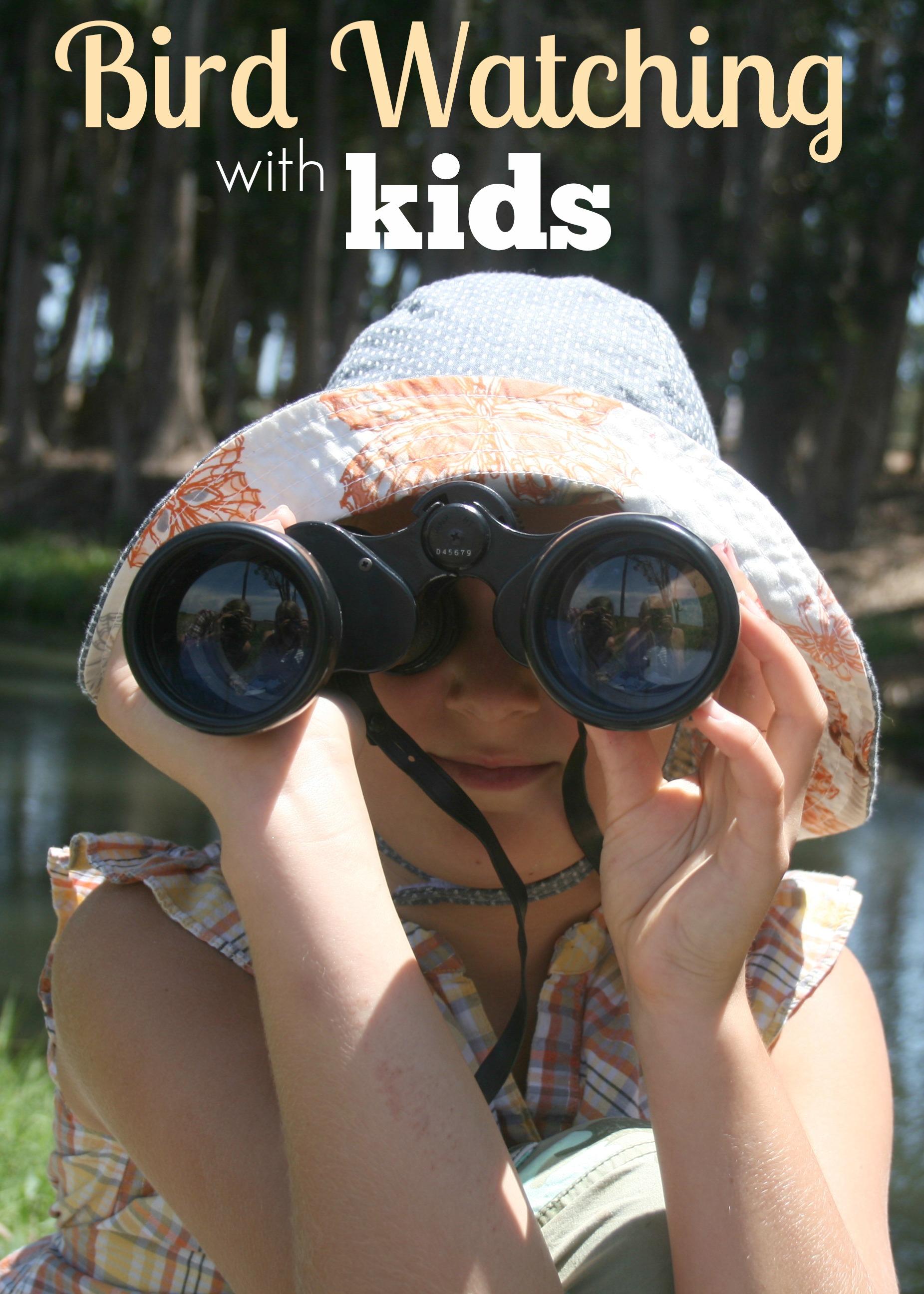 birdwatching for homeschool nature study