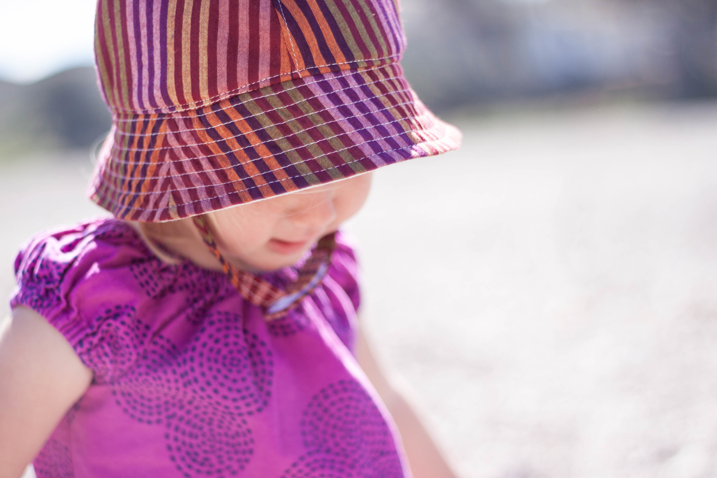 girl sun hat by blue corduroy