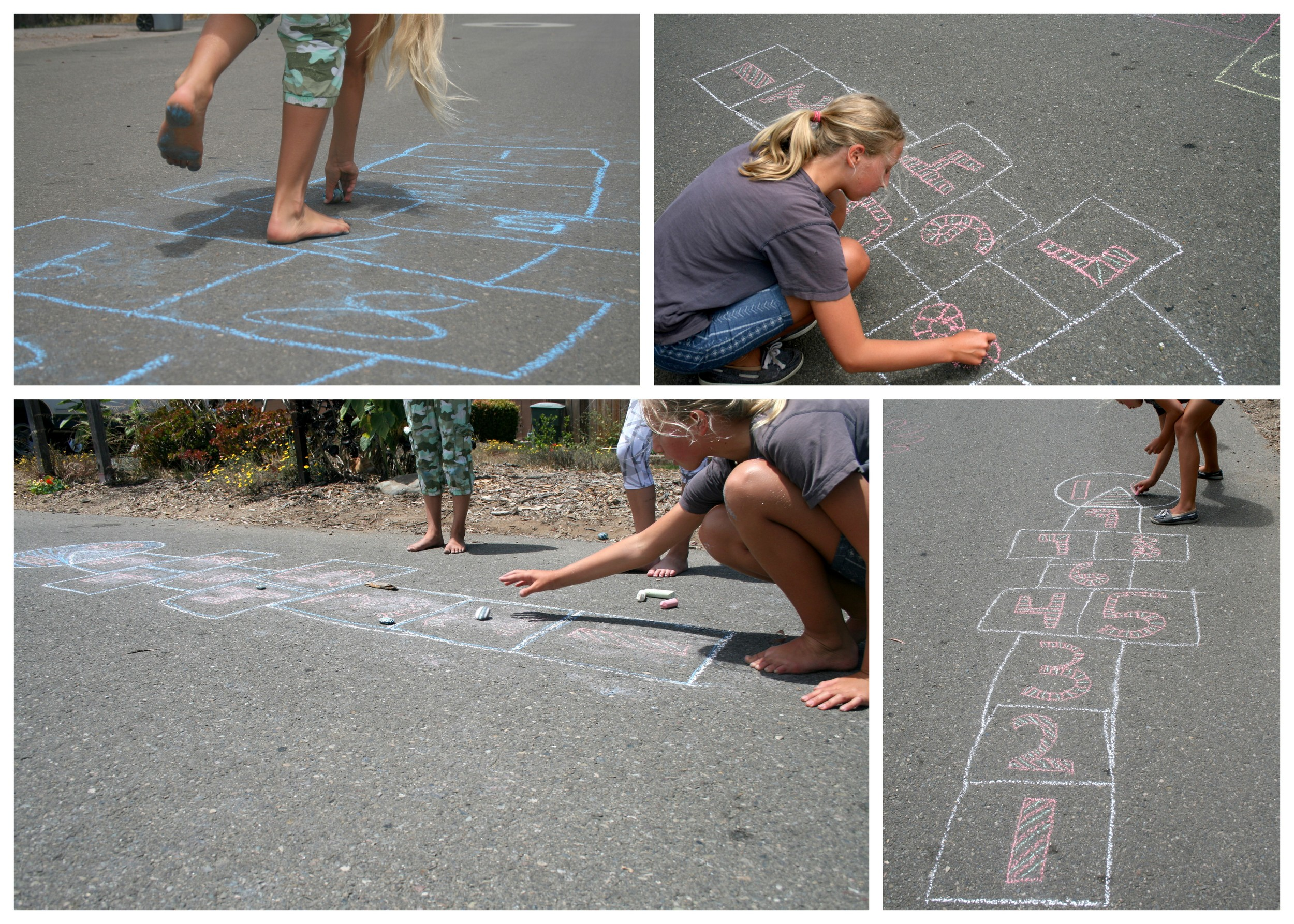 How to Play Hopscotch Like a Kid