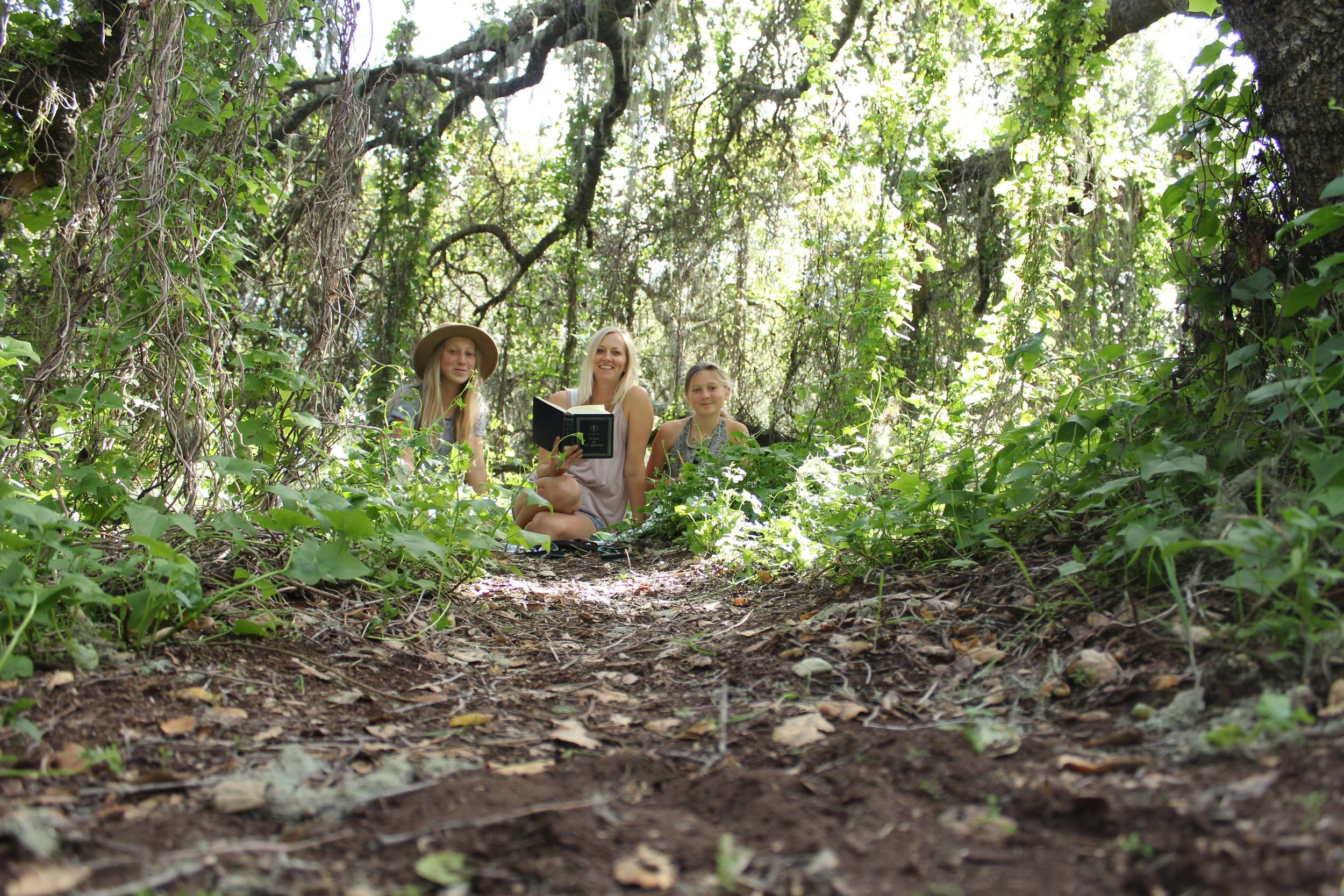 homeschooling in nature