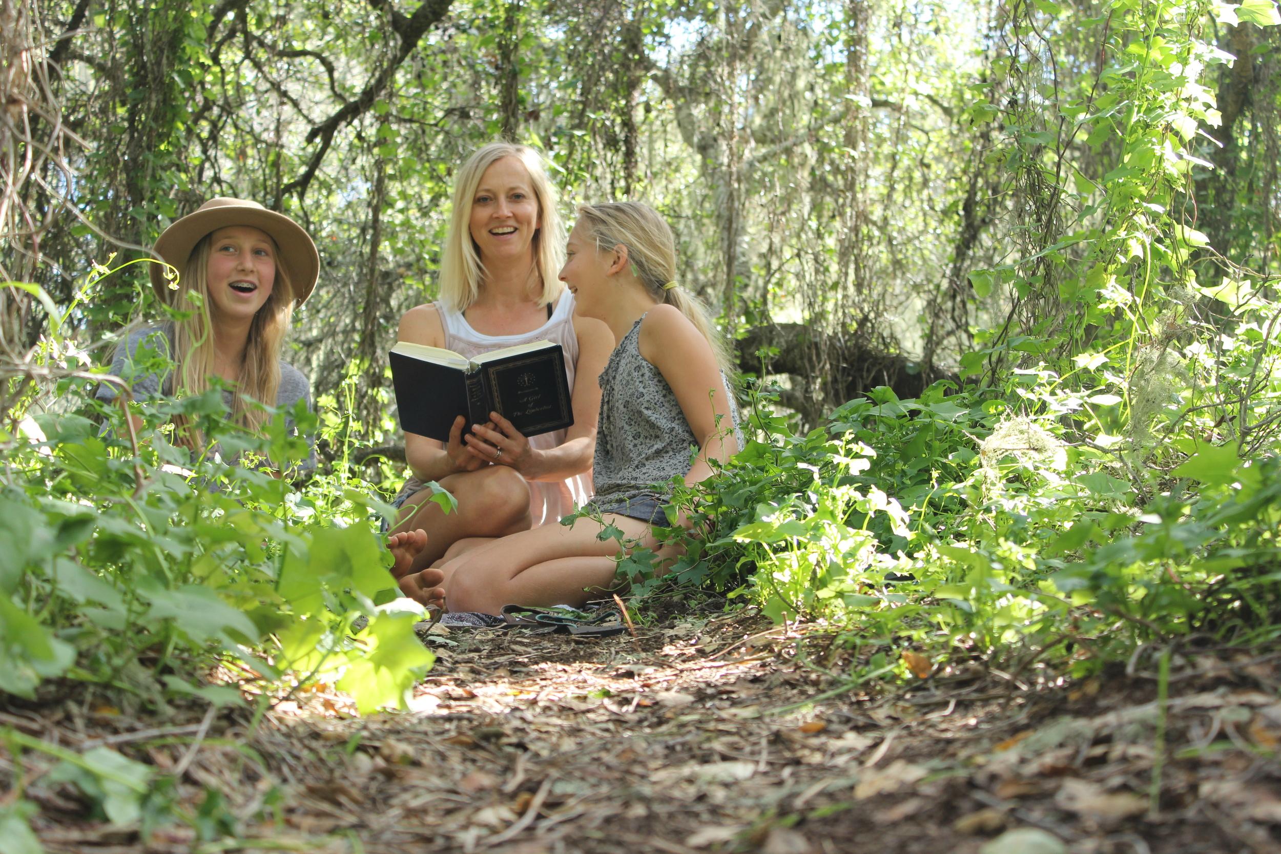 read aloud outside
