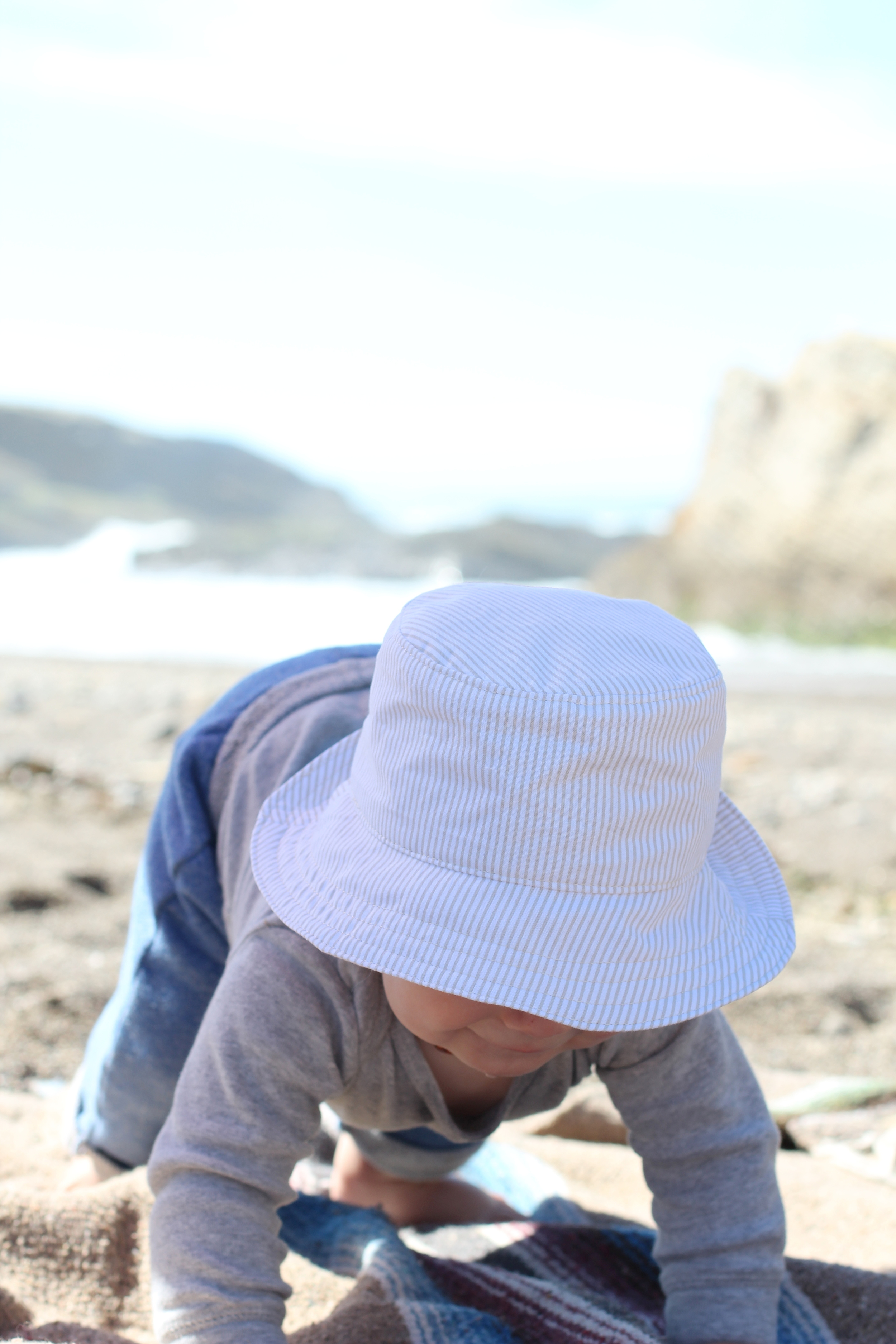 Baby Sun Hat by Blue Corduroy