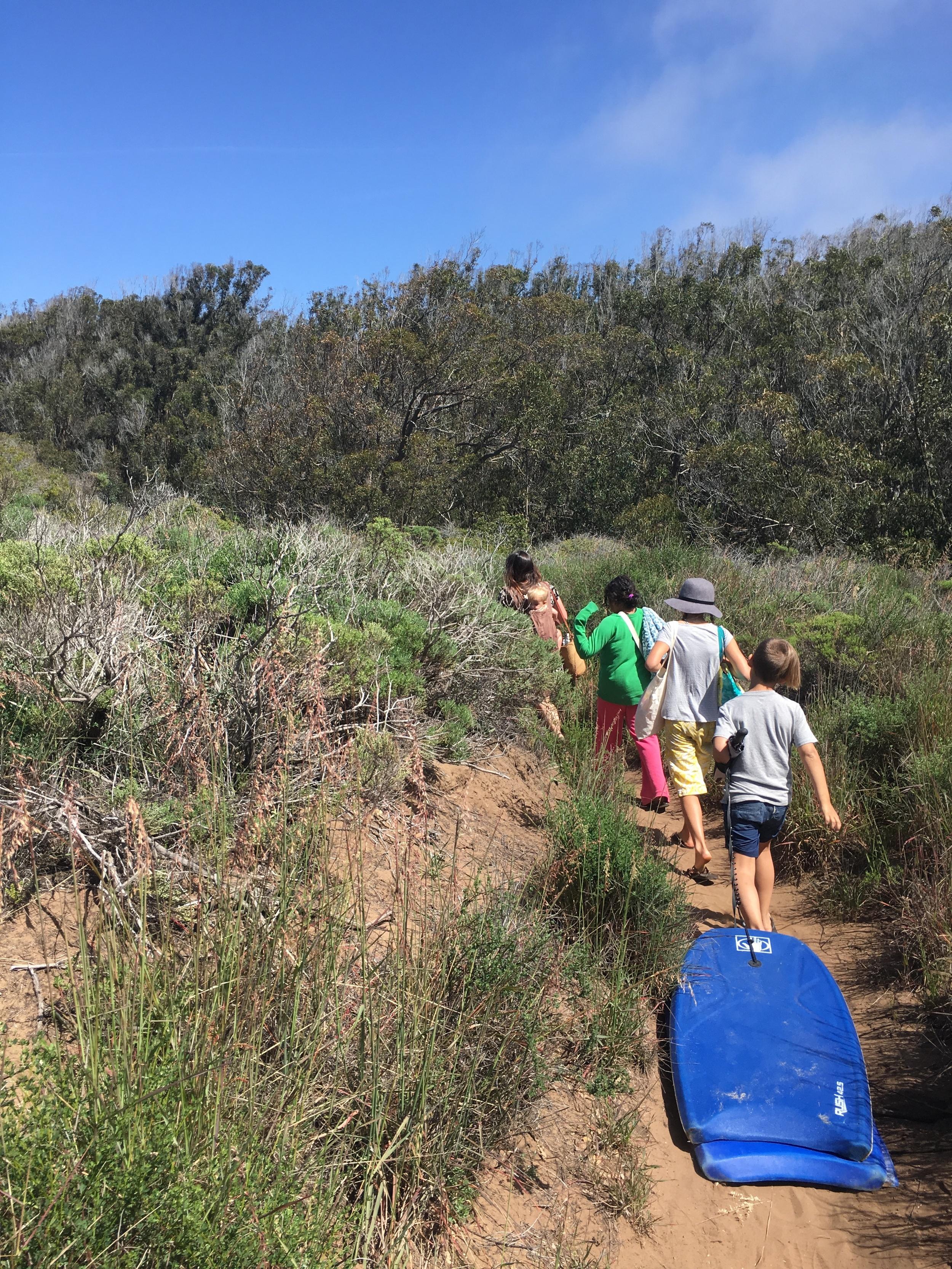 beach day trail