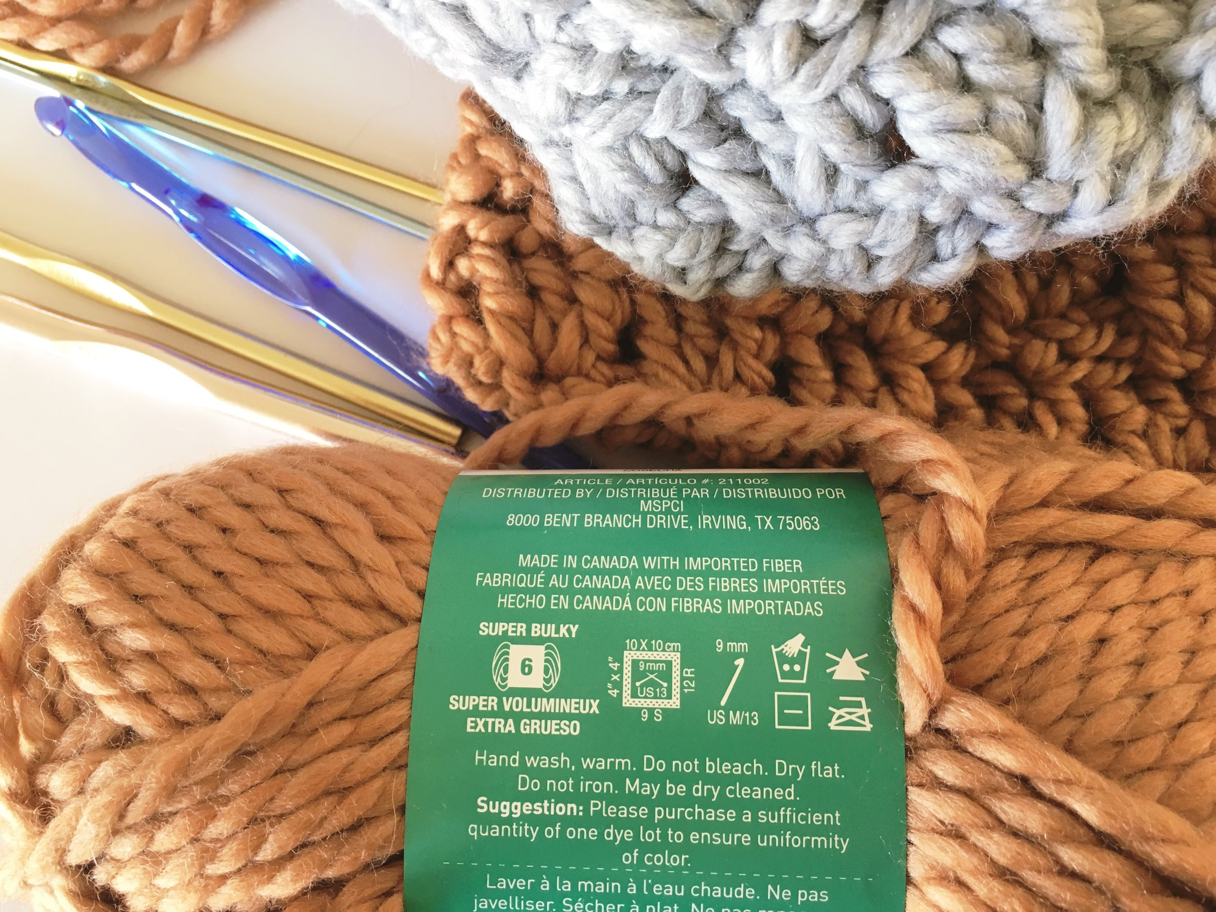 How to read a yarn label by Blue Corduroy